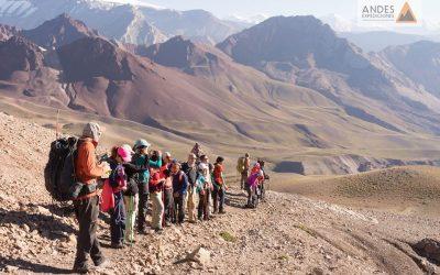 Información Trekking Cruce de los Andes Feriado de Carnaval 2019