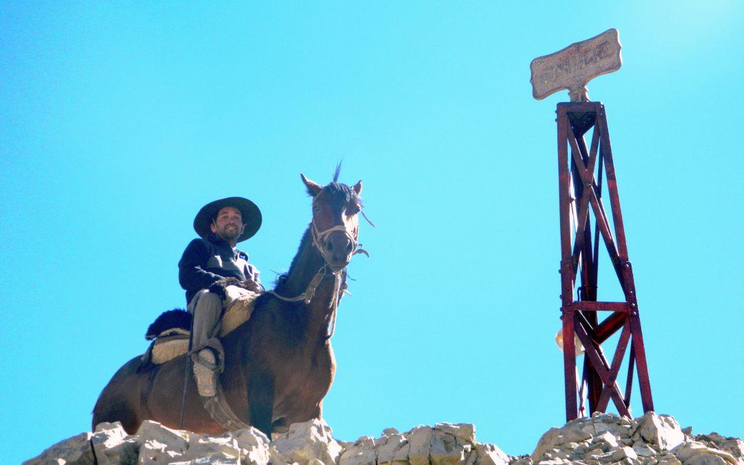 Arrieros, componente fundamental del cruce de los Andes.